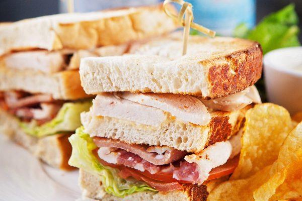Bacon sandwich at the Lexington.